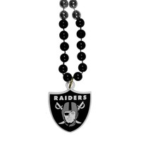 NFL - Oakland Raiders Mardi Gras Bead Necklace