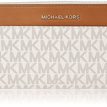 MICHAEL Michael Kors Mercer Pocket Zip-Around Continental Wallet
