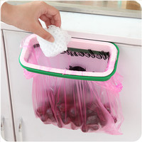 Kitchen Rack Rubbish Bags Storage Rubbish Bin [6395709572]