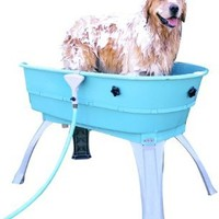 Booster Bath 3040 Blue Large Dog Wash: Pet Supplies