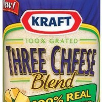 Kraft Grated Parmesan, Romano & Asiago, 8 Ounce Cannister (Pack of 2)