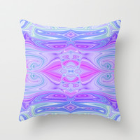 Groovy Love Throw Pillow by Ally Coxon
