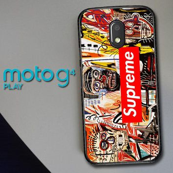 Supreme To Release Collection Featuring Basquiats V1635 Motorola Moto G4 Play Case