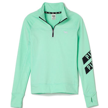 UltimateHalf-Zip - PINK - Victoria's Secret