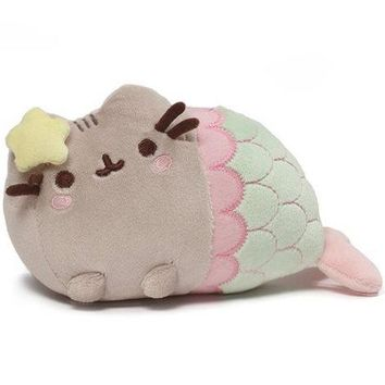 Pusheen the Cat Star Mermaid Plush Toy by Gund