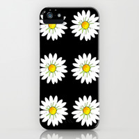 Daisies iPhone & iPod Case by Annalise Grech