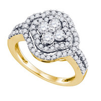 Diamond Fashion Ring in 14k Gold 1.04 ctw