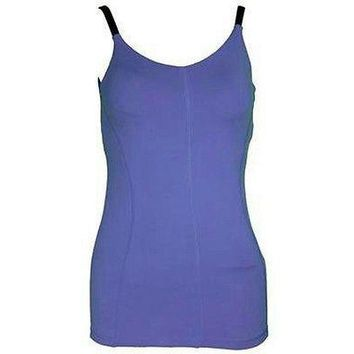 Champion Premium Fitted Duo Dry Sport Tank Cami Removable Cups Bra Women's