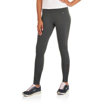 Danskin Now Women's Performance Compression Leggings with Mesh Insets - Walmart.com