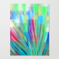 Growth 6 Canvas Print by Jen Warmuth Art And Design