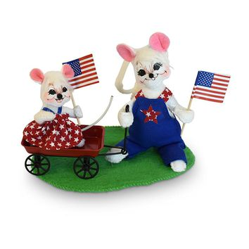 Annalee Dolls 5in 2018 Patriotic Parade Pals Plush New with Tags