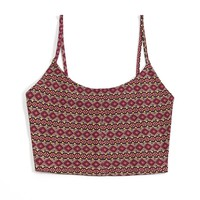 Printed Cropped Cami