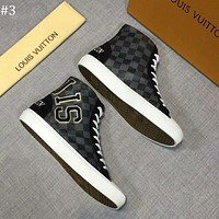 LV 2018 new trend high men's casual sports shoes #3