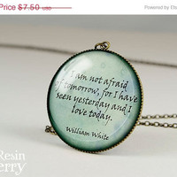 ON SALE: famous quotes resin pendants,photo charms,necklace pendant,love pendant charm- Q0079CP
