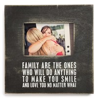 Primitives by Kathy 'Family' Box Picture Frame (4x6)