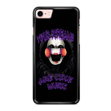 Five Nights At Freddy S The Marionette iPhone 7 Case