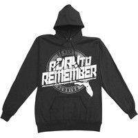 A Day To Remember Men's  Florida Hardcore Hooded Sweatshirt Black
