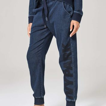 Oversized Denim Jogger by Ivy Park | Topshop
