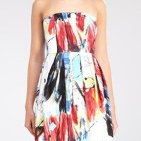pleated Jackson tube dress