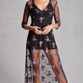RD And Koko Embroidered Dress