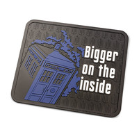 Doctor Who Rubber Welcome Mats