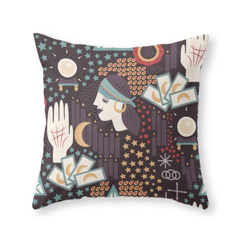 Society6 How Will I Know Throw Pillow