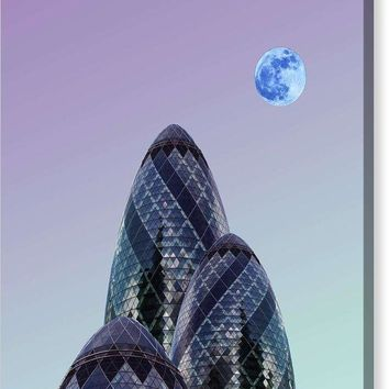 Urban Architecture - London, United Kingdom 8s - Canvas Print