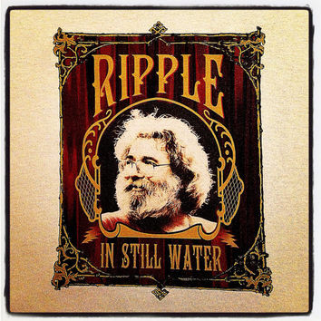 Ripple Jerry Garcia Grateful Dead T Shirt-