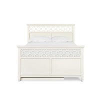 Magnussen Home BKITY1816-54H-Y1816-54F-Y1816-54R-Y1816-70S Cameron White Twin Panel Bed w/ Trundle