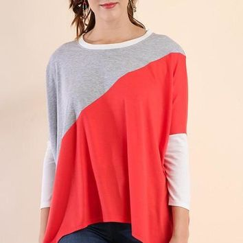 Colorblocking Top