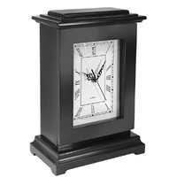 Personal Security Products Tall Gun Concealment Clock Wood Black RGCBLK