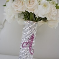 Bouquet Handle Holder Swarovski Crystal Bouquet by panachebride