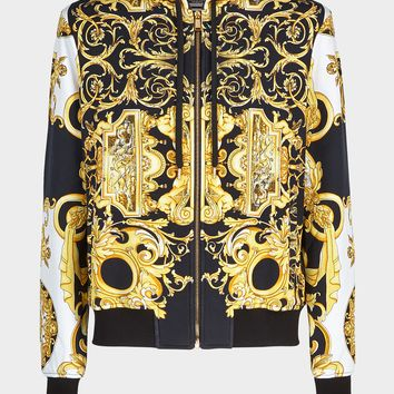 Versace Barocco SS'92 Tribute Hoodie for Men | US Online Store