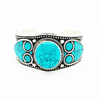 NEPALESE ➳ STUNNING TURQUOISE CUFF