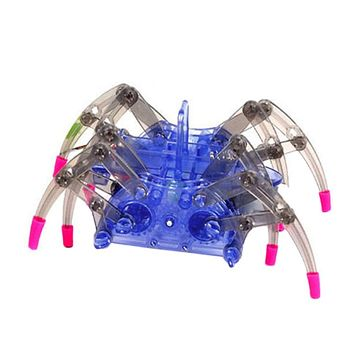 New Electric Robot Spider Toy DIY Educational Toys Assembles Toys Kits For Kids Christmas Birthday Children's Day Gifts