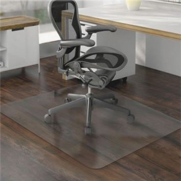"Ktaxon 36"" x 48"" PVC Chair Floor Mat Home Office Protector For Hard Wood Floors - Walmart.com"