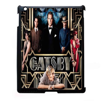 The Great Gatsby Patterns FOR IPAD 2/3/4 CASE *07*