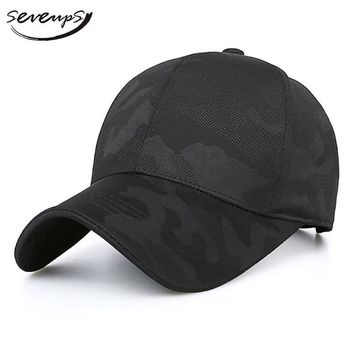 Trendy Winter Jacket Seveups Camouflage Baseball Cap For Men Tactical Male Hat Summer Army Snapback Hat Caps Vintage AT_92_12