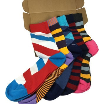 5 Pairs Men's Power Socks - So Fresh Collection