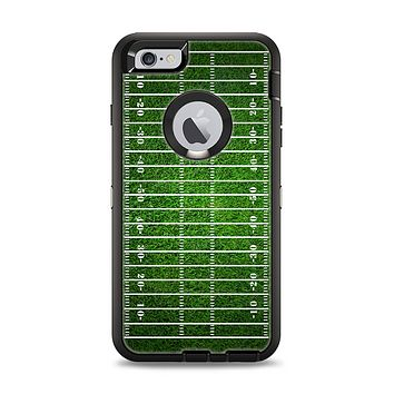 The Green Turf Football Field Apple iPhone 6 Plus Otterbox Defender Case Skin Set