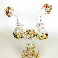 Double Head Glass Bubbler