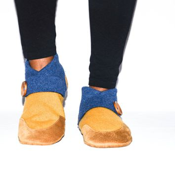 Women Cashmere Slippers, Wool House Slippers