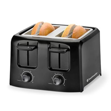 Toastmaster-4-Slice Cool Touch Toaster Black