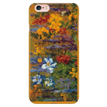 Phone Case-iPhone 6 Plus/6s Plus-High Country Flowers-Jacqua Schmich