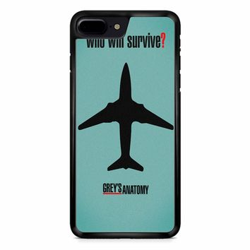 Greys Anatomy Who Will Survive iPhone 8 Plus Case