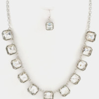 Crystal Only Necklace