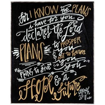 Jeremiah 29:11 Wood Block | Shop Hobby Lobby