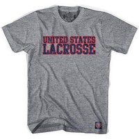 United States Lacrosse Nation T-shirt