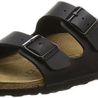 Birkenstock Birko-Flor Arizona Black Womens Sandals