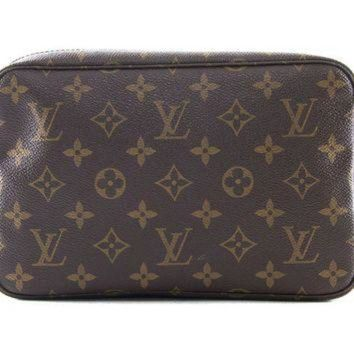 ICIKU3N Authentic Louis Vuitton Trousse toilette 23 monogram cosmetic bag M47524